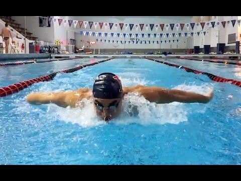 Penn Men's Swimming & Diving Training: 2016 - 2017