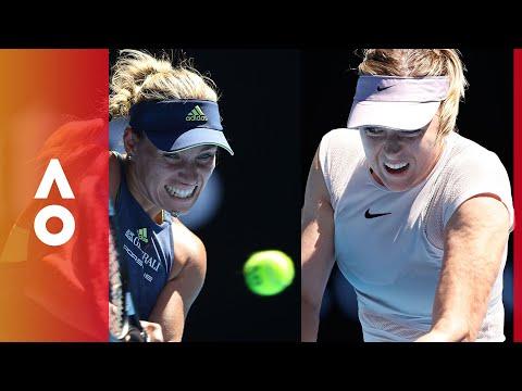 former-champions-go-head-to-head-kerber-v-sharapova-|-australian-open-2018