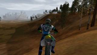 Motocross Madness 2 demo - stunts/glitch/wipeouts