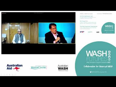 WASH Futures 2018 Conference Panel Discussion: Achieving WASH at Scale