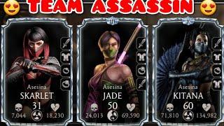 Mortal Kombat Mobile Team de asesinas