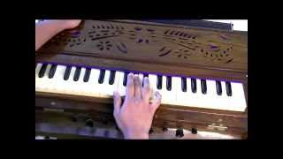 How to play - Aarti - Om Jai Jagdish Hare on Harmonium - Part 2