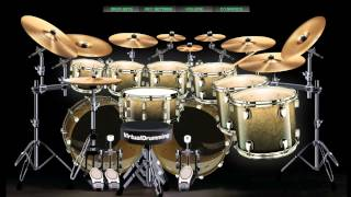 Nightmare Avenged Sevenfold - Drum Virtual Cover VirtualDrumming.com