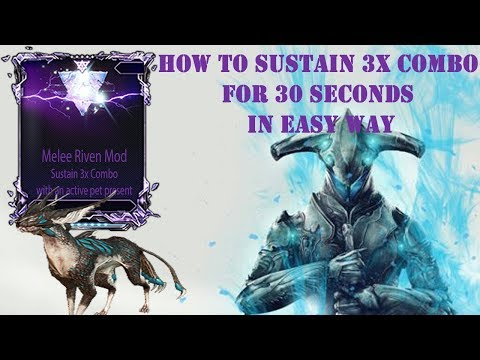 Melee Riven Challenge: Sustain 3x Combo for 30 seconds with active pet Present