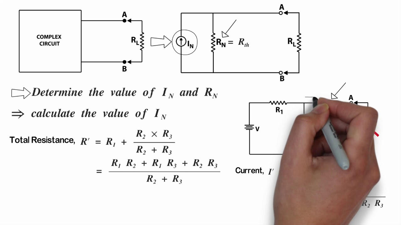 How To Calculate Nortons Current And Resistance Youtube Does Someone The Total Of Such A Circuit
