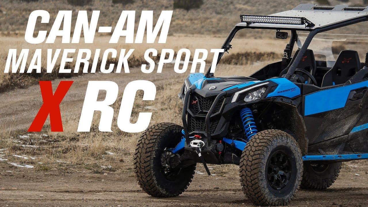 Can Am Maverick Sport 1000r X Rc Ride Review