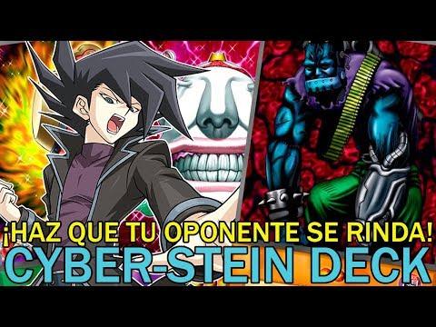 ¡HAZ QUE TU OPONENTE SE RINDA! Cyber-Stein Deck | Yu-Gi-Oh! Duel Links