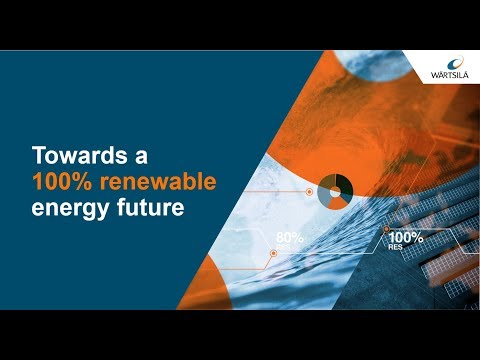 Towards a 100% renewable energy future | Wärtsilä