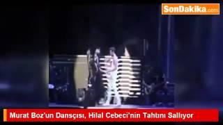 Murat Boz'un Dansçısı, Hilal Cebeci'nin Tahtını Sallıyor. 2017 Video