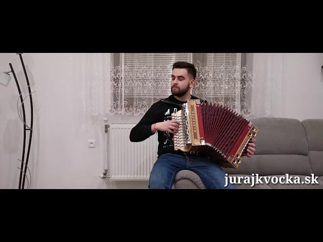 Juraj Kvočka - Lipová lyžka (Na skle maľované)