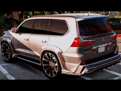 Lexus LX 570 SUPER SUV - Exterior And Interior 1080p