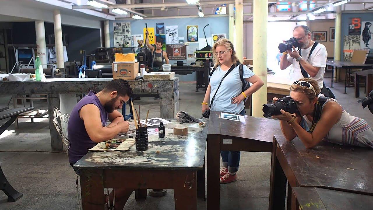 Taller de artesan a en cuba visita fotogr fica youtube for Taller de artesanias