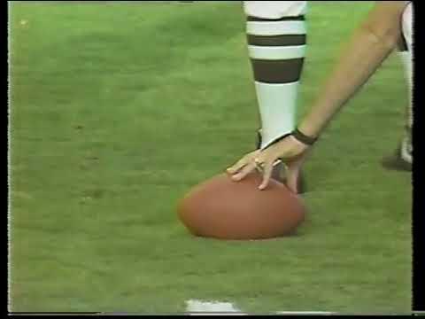 New York Giants vs Washington Redskins 1990 Week 6
