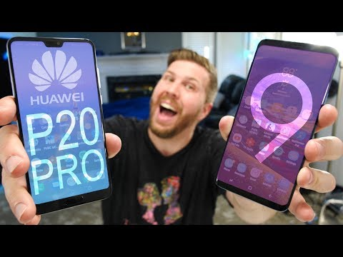 Huawei P20 Pro vs Galaxy S9+ | All Hail the New King?