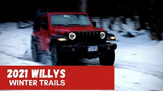 Jeep Willys Off-roading