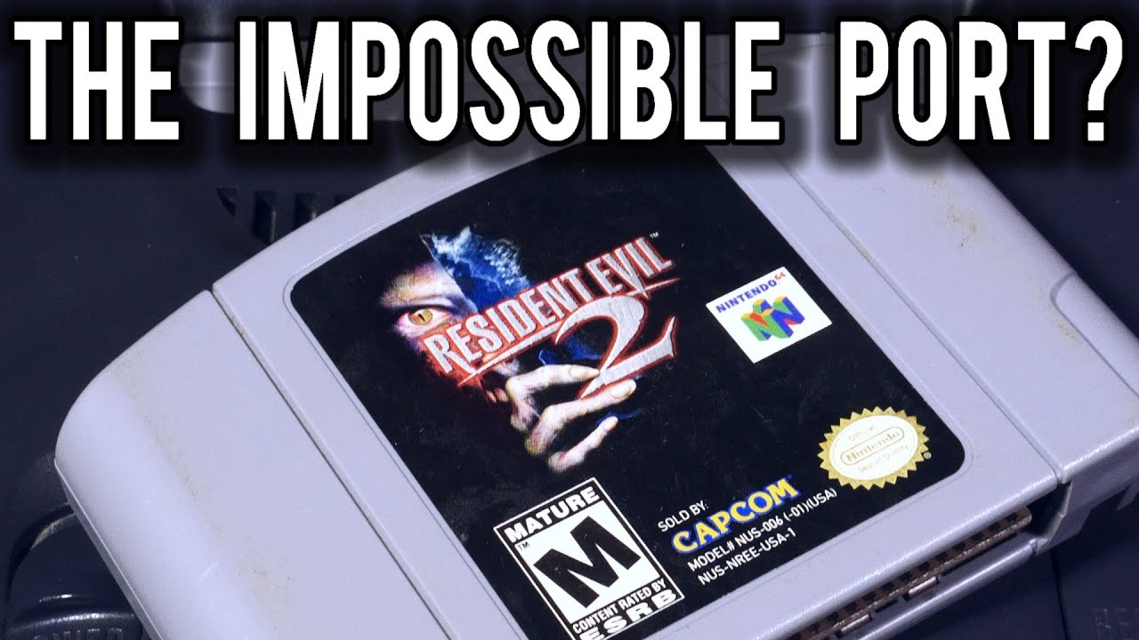 How did Resident Evil 2 manage to fit on a single Nintendo 64 Cart ? | MVG
