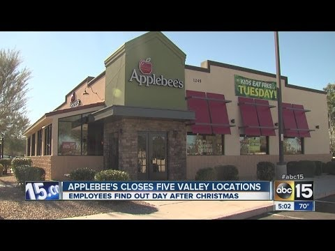 Applebee's closes five Valley locations