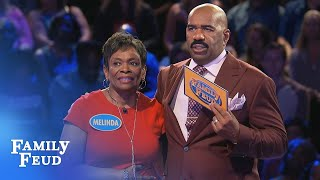 GIBSONS give it a SHOT! | Family Feud
