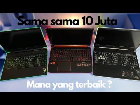 PERANG LAPTOP ! Acer Nitro 5 VS Asus TUF FX505DD VS Hp Pavilion Gaming | Mana Yang Terbaik ?