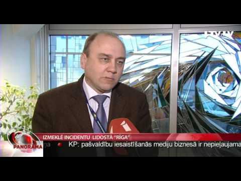 """Izmeklē incidentu  lidostā """"Rīga"""""""
