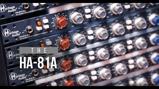 Heritage Audio HA81A drums test