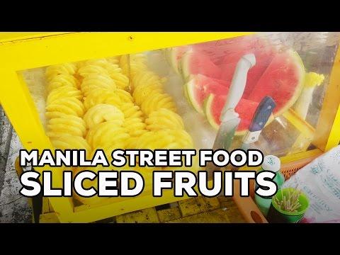 Must-Try Manila Street Food: Sliced Fresh Fruits
