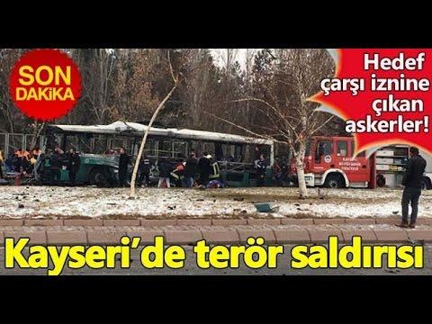 KAYSERİDE PATLAMA ANI İLK GÖRÜNTÜLER !!!