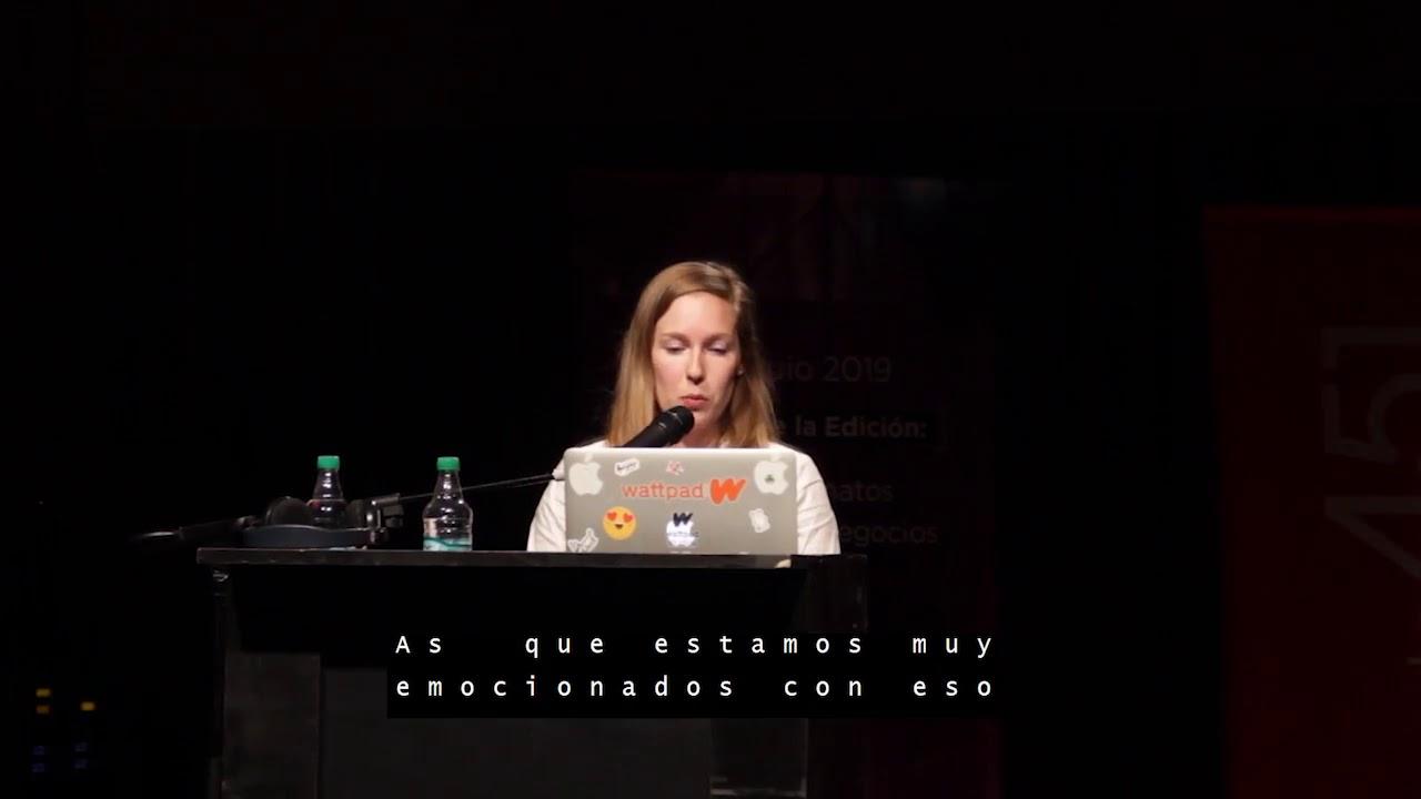 Wattpad y el aluvión global de autoras y autores. Katey Townshend ...