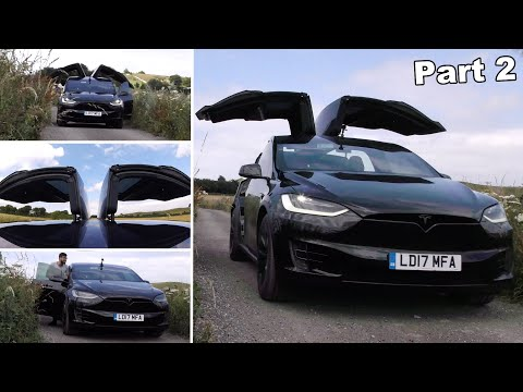 can-you-drive-with-all-doors-open-&-up?!-|-tesla-model-x-falcon-wing-doors-part-2/2