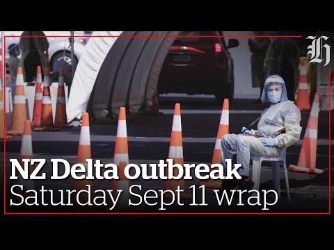 Focus: NZ Delta outbreak   Saturday 11th Sept wrap   nzherald.co.nz