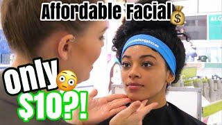 I GOT A FACIAL FOR $10?! | jasmeannnn