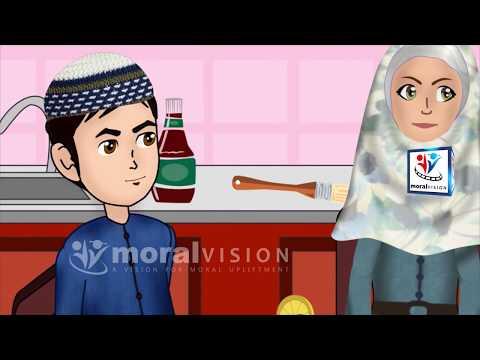 Bismillah before eating Abdul Bari Urdu Islamic Cartoons for children