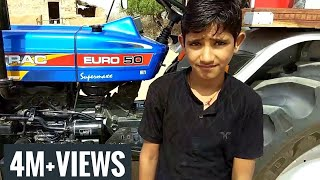 रविंद्र को ट्रैक्टर चलाना कैसे सिखाया | How to Drive Tractor In Hindi by Surendra Khilery |