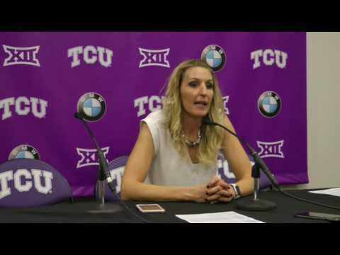 Raegan Pebley talks SHSU win - YouTube