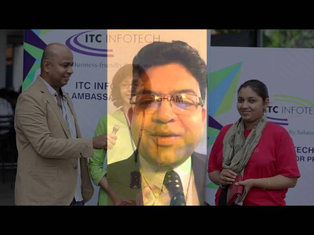 ITC INFOTECH Brand Ambassador Program - YouTube