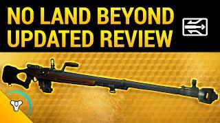 Destiny Taken King: No Land Beyond Exotic Review v.2