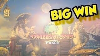 BIG WIN!? Caribbean Stud Poker - Casino - Table games - Online Caribbean Stud Poker