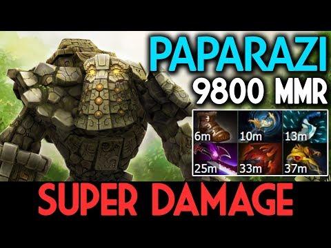 PAPARAZI Dota 2 7.07 [Tiny] INSANE BURST ! Super Damage thumbnail