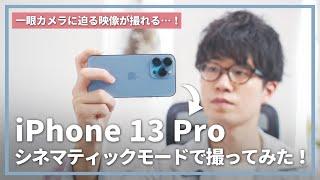 【先行レビュー】iPhone 13 Proのシネマティックモードが想像以上にすごかった…!