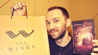 Обзор покупок: книги, сумка.