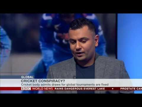 India vs Pakistan, Champions Trophy cricket draw fixed.  Nikesh Rughani on BBC World News
