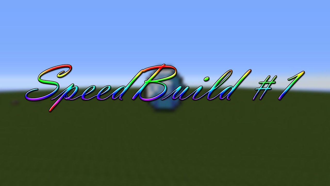 Minecraft - SpeedBuild #1