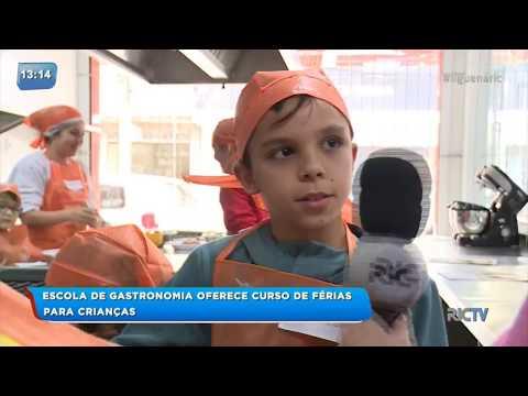 Escola de gastronomia oferece curso de férias para as crianças em Itajaí