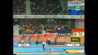 Antonio Reina Cto Europa Madrid 2005 pista cubierta
