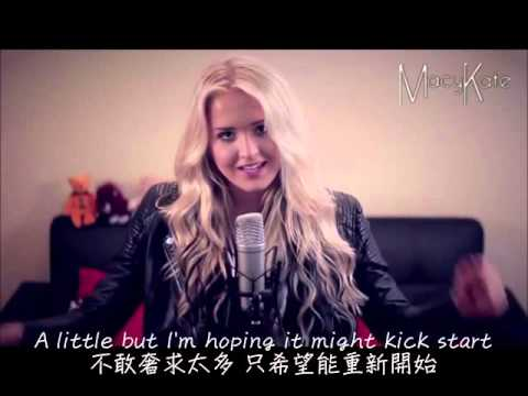 Me & My Broken Heart  -  Macy Kate cover 中文字幕