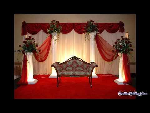 Simple Stage Decoration at Home