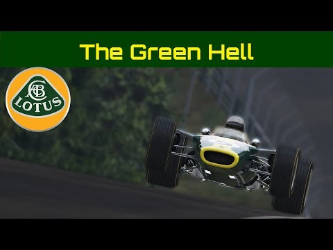 THE GREEN HELL: Jim Clark's Lotus Ford at the Nurburgring Assetto Corsa Onboard