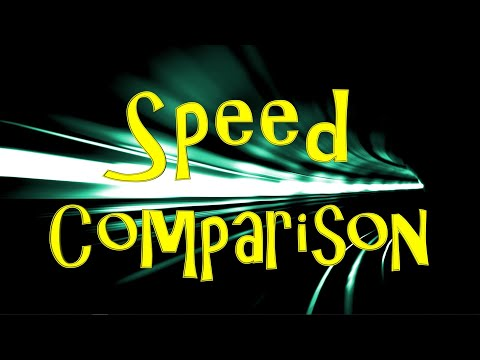 Velocity Comparison