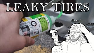 How to Fix a Leaking Tire/Rim