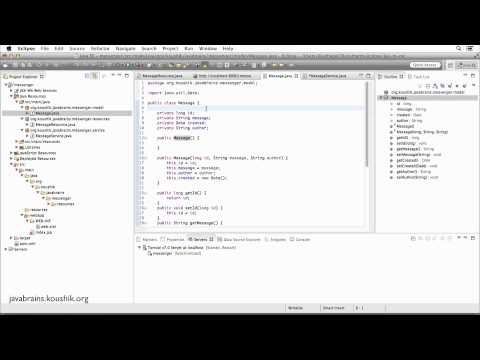 REST Web Services 14 - Returning XML Response